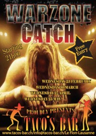 CATCH 2011 WARZONE CATCH NIGHT WITH THE SPW verso