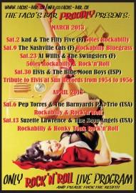LAKE RATTLE & ROLL 2013, ROCKABILLY FESTIVAL verso